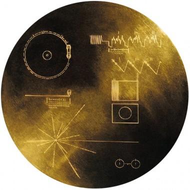 Carl Sagan, The Voyager Interstellar Record (& Book Cover), 1977