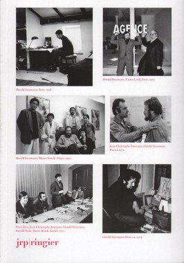 Harald Szeemann, Individual Methodology