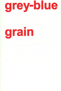 Adam Pendleton, grey-blue grain
