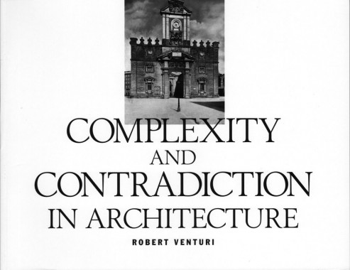 Robert Venturi, Complexity And Contradiction In Architecture