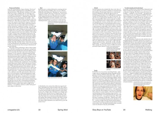 C Magazine 121, Walking