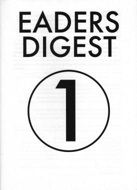Eaders Digest 1