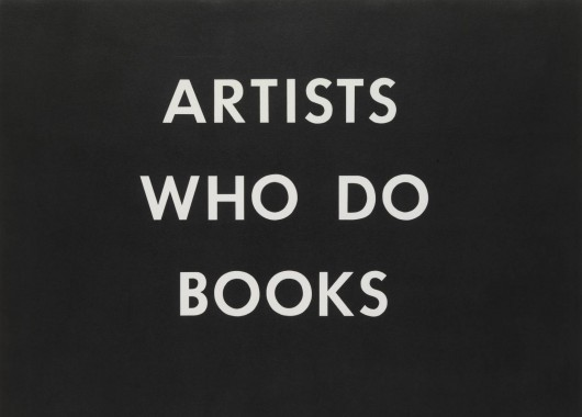 Ed Ruscha -- Books & Co.