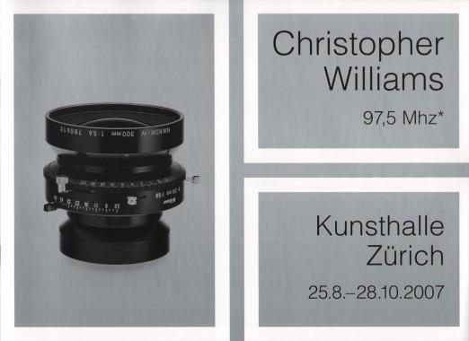 Christopher Williams, 97,5 Mhz