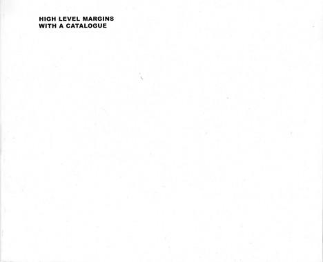 Nedko Solakov, High Level Margins With A Catalogue